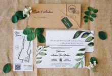 Invitation for Septi & Ambar by Soraksorai