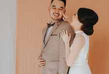 Arvian & Patricia Prewedding indoor  by Seraglio Couture