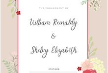 Wiliam reinaldy & shelvy engagement by serein.decor