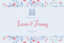 The engagement of ivana & tommy by serein.decor
