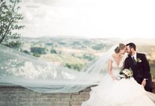 Romantic Tuscan Wedding by C&G Wedding and Event Designer