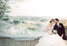 Romantic Tuscan Wedding by C&G Wedding and Event Designer