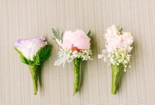 Corsages and Boutonniers by Loi Floral Sense by Serge Igonia