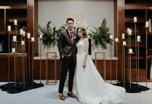 Botanical Minimalist Wedding by Sergio Rusli