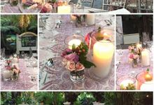 Table Set-Ups by Mesclun Events Catering + Styling