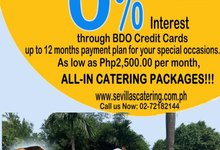 Celebrate your Dream Special Occasion with Sevilla by Sevilla's Catering