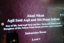 Wedding Agil Said Aqil & Siti Hajar Sofyan by Handy Talky Rental bbcom