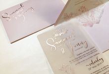 Samuel & Fenny by Gracia The Invitation