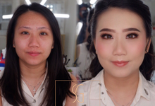 Before after by SG Makeup Artist