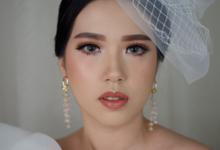 Bride Makeup (Monolid Eyes) - Ms. Angel by SG Makeup Artist