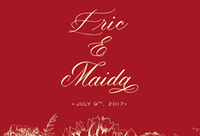Eric & Maida Engagement by SH Printing and Hampers