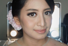 Engagement & Prewedding Make up  by shabrinamakeup