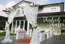 Shahid & Shafiza by Qisa Production