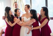 Sheen Mao & Aik Hui wedding day in Capella Singapore by Daniel Beh Photography