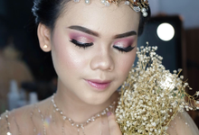 Bold Makeup Wedding by Shally Makeup
