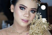 Bold Makeup Wedding by Shally Makeup