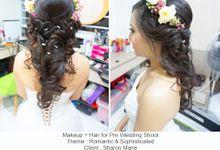 Pre-Wedding of Shaun & Marie by Clara Song Make Up