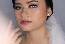 Bride Agnes by Sharona Tevila MUA