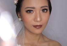 Bride Ms. Jul  by Sharona Tevila MUA