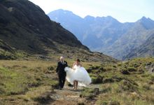 Dramatic elopement to Scotland by a couple who did things their way by Euphoria Photography