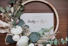 INDRA & IRENE @ahavahall by She La Vie Organizer & Decoration