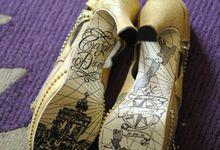 Pen and Ink Shoes by Sheila De Jesus Shoes
