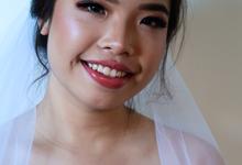 Wedding makeup  by sheirlint makeup