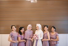 Wedding Highlight Andi & Sella by Menara Mandiri (Ex. Plaza Bapindo) by IKK Wedding