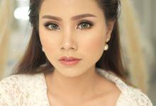 Wedding Makeup, Ms. Kezia by Shellen Makeup Artist