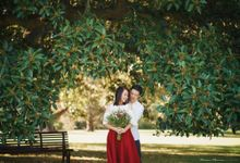 Melbourne Engagement Shoot of Sherman & Melanie by Fabulous Moments