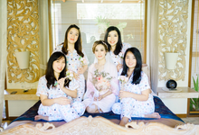 the wedding of Daniel and Emy by shiangkho_makeup