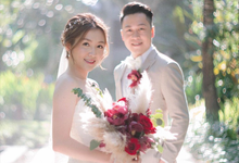 the wedding of Unisun and Nicky by shiangkho_makeup