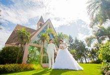 Shigira Bayside Resort Suite ALLAMANDA by 【Zexy  YouI】:Pre wedding photo in Japan