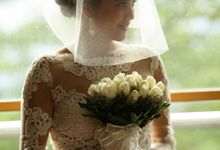 Short veil for Bride May by Bride Of Marc