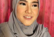 Makeup No Makeup Look by Abidahemasmakeup