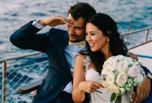 Wedding in Greek island by Elias Kordelakos