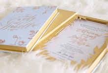 Lasercut box wedding invitation by Signature Design