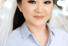 Wedding makeup trial Ms Rebecca by Silvia Jonathan