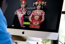 simonagneswedding.com by Bowbei.com