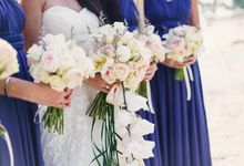 Wedding of Matthew and Jocelyn by Elly Floral Artistry