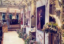 Intimate Wedding Dinner by Bleubell Design