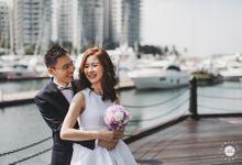 SOLEMNIZATION PHOTOGRAPHY - HUI YIN & MATTHEW by Knotties Frame