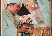 The Wedding of Nora & Septian by Moslem Wedding Organizer