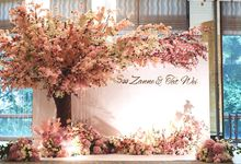 Soo Zanne & Tat Wei by Fleurs At Marrakesh