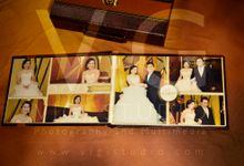 Album Photo Kolase Wedding Imelda & Baginda Model Koper Kulit by VIGI STUDIO