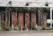 The Wedding of Siska and Kautzar by Elior Design