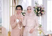 Harald Arkan & Prily Wedding Day by Medina Catering
