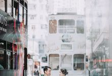 Sharon & Ming - 1930s Shanghai Engagement Portraits in Hong Kong by Chester Kher Creations