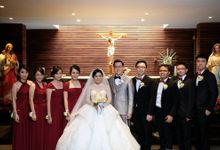 Wedding Of Erick And Natalia by Convertibledress