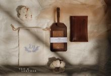 Kim Chuan And Ivena Wedding Gift by Yuo And Leather